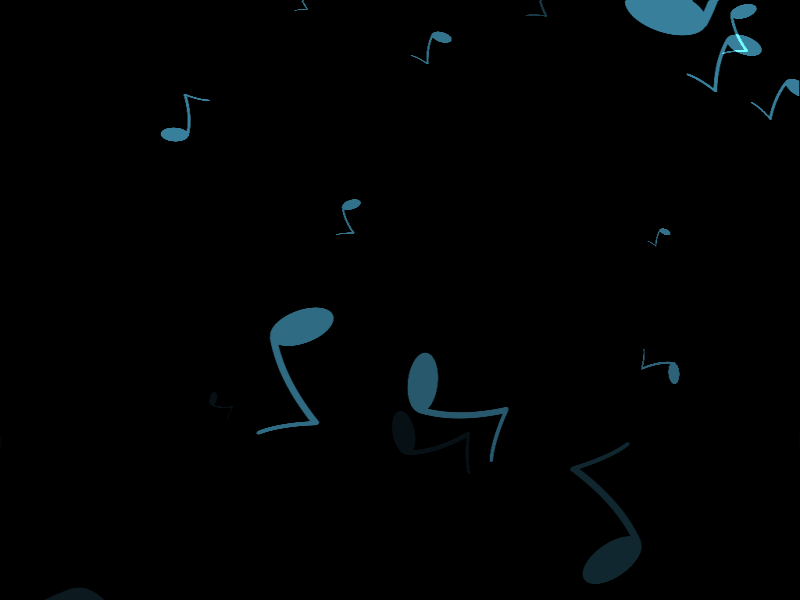 MMD Falling Musical Notes 1 DL by ChestNutScoop