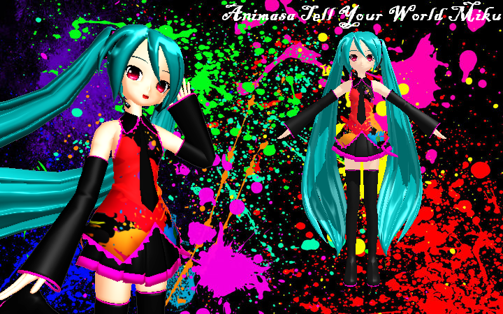 MMD Animasa Tell Your World Hatsune Miku + DL by ChestNutScoop