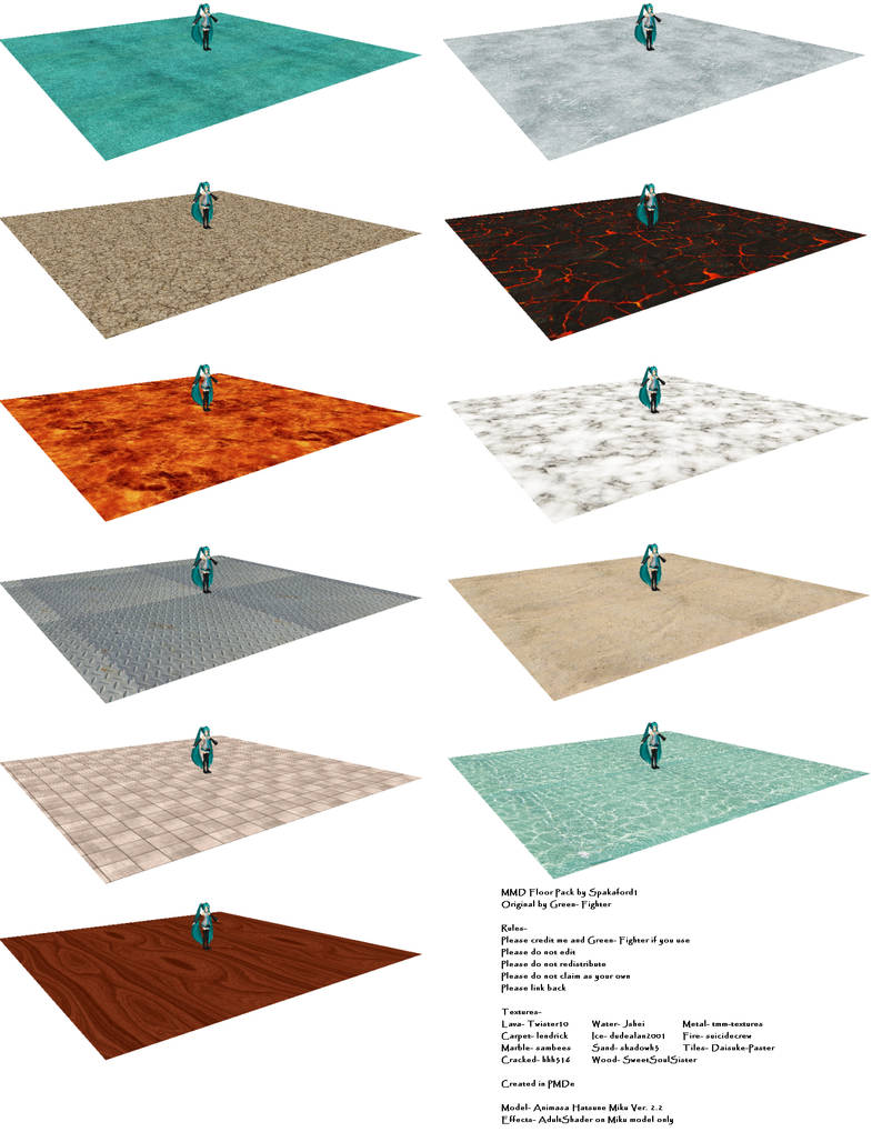 Mmd Floor Pack Dl 100 Watchers Special By Chestnutscoop
