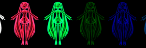 !!UPDATE!!MMD Spectrum Illusionary Shaders DL
