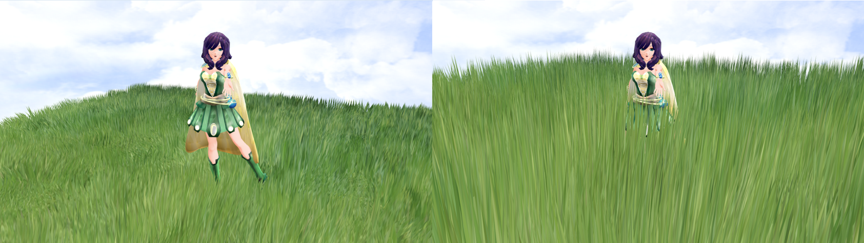 MMD Extra Long Grass Effect DOWLOAD by ChestNutScoop