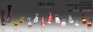 Shoes Pack - DOWNLOAD -
