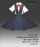 Old School Dress -DOWNLOAD-