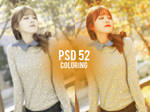 PSD coloring 52
