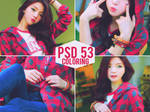 PSD coloring 53