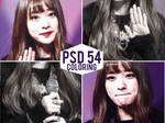 PSD coloring 54