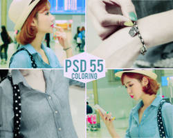 PSD Coloring 55 by suceobaby