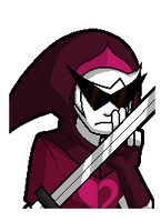 ::Animated Talksprite Dirk Strider:: by TheBealeCiphers