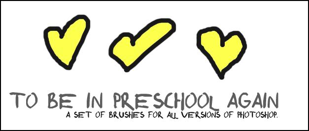 Preschool Brushes by cheetah-flats