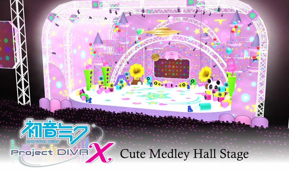 stage flood mmd cute - photo #3