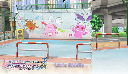 MMD Idolm@ster CGSS: Little Riddle Stage by Terrathde