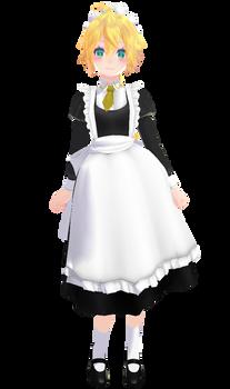 Tda Lenka Kagamine Maid of Evil(or just maid) [DL] by xXMofuMofuXx