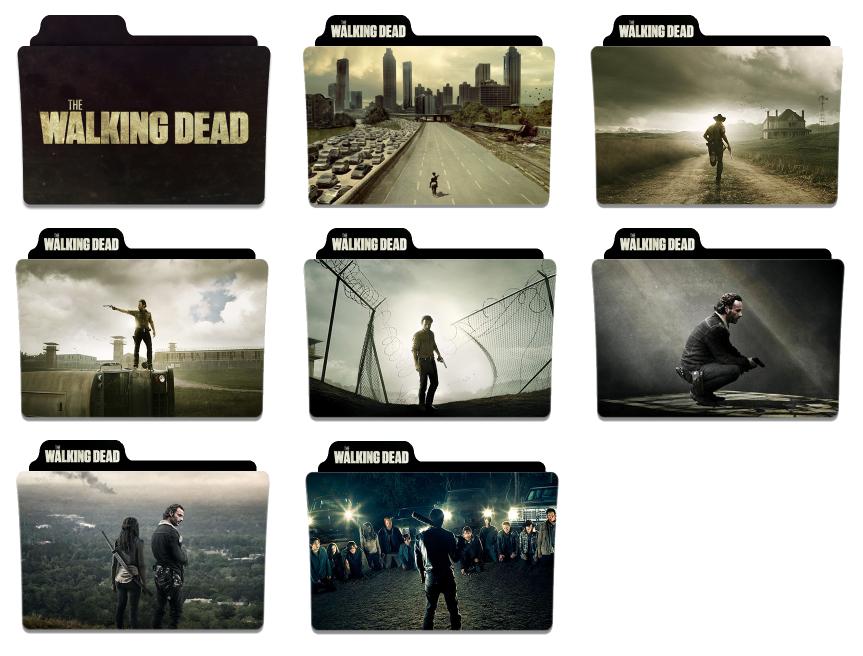 The Walking Dead Season 1 7 Folder Icons By Hussun1 On