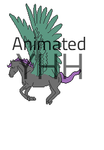 Flying  animated pixel YHH (OPEN) by Interrobang-designs