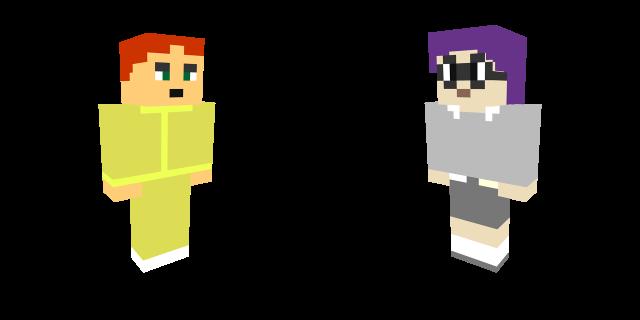 Max and Scarlett MC Palette Swap by henryca03