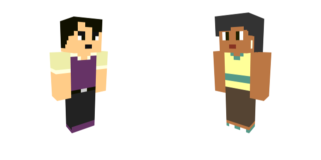 Dave and Sky MC Palette Swap by henryca03