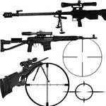 Sniper Rifle Brush Set