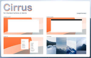 CIRRUS for curtains + xoblite