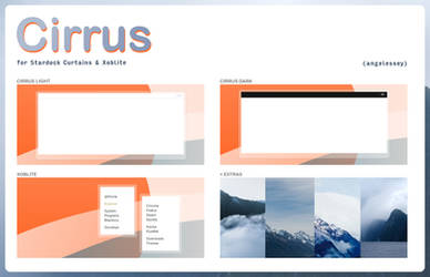 CIRRUS for curtains + xoblite by angelessey