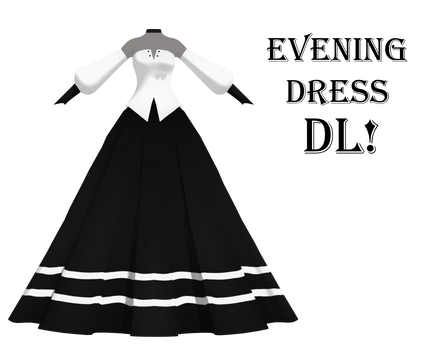 (MMD) TDA Evening Dress (DL 60 point)