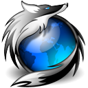 Dark Firefox Icon by Deathshead747