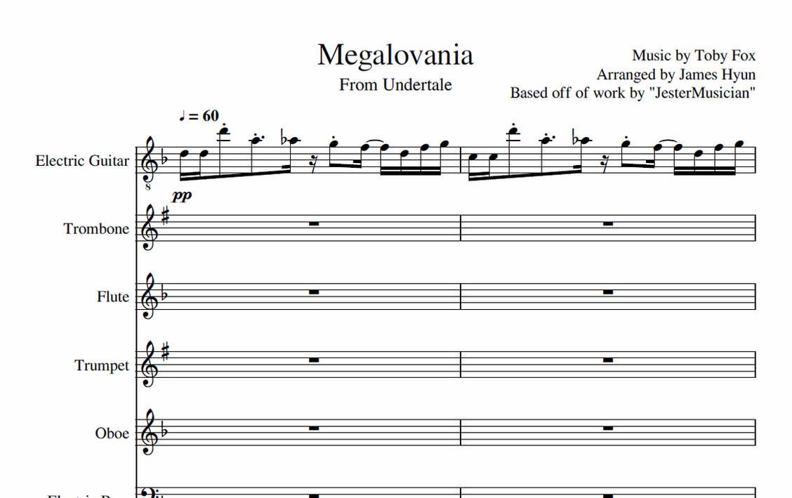 Undertale - Megalovania by 1230james on DeviantArt