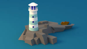Lighthouse Low Poly