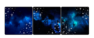 .:+Blue Galaxy Dividers+:. by JustMoved