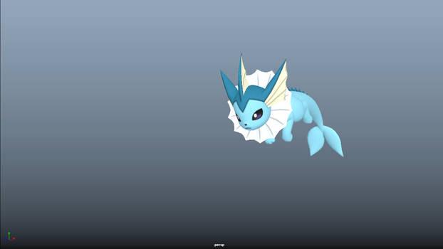 3D Pokemon animation 'doodles'