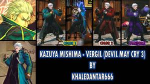 KAZUYA MISHIMA - VERGIL (DEVIL MAY CRY 3)