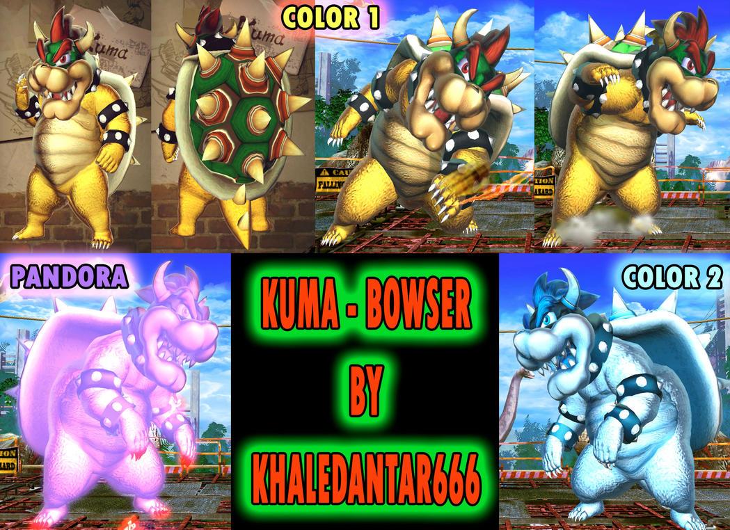 KUMA - BOWSER by Khaledantar666