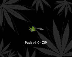 LinuxMint cannabis wallpaper 1 by JoeyRex