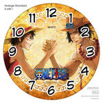Horloge standard a pile One.Piece Bras de fer 1