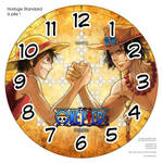 Horloge standard a pile One Piece Bras de fer 2