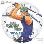Horloge standard a pile One Piece Roronoa Zoro 1