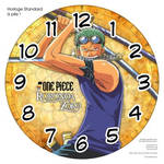 Horloge standard a pile One Piece Roronoa Zoro 2 by JoeyRex