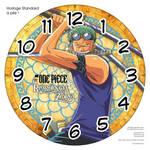 Horloge standard a pile One Piece Roronoa Zoro 3