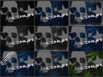 DeadHead LinuxStyle BlackBerry Wallpaper Pack 1