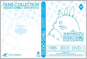 Studio Ghibli Pochettes DVD Vector by JoeyRex