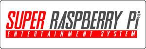 Logo Super Nintendo Raspberry pi concept