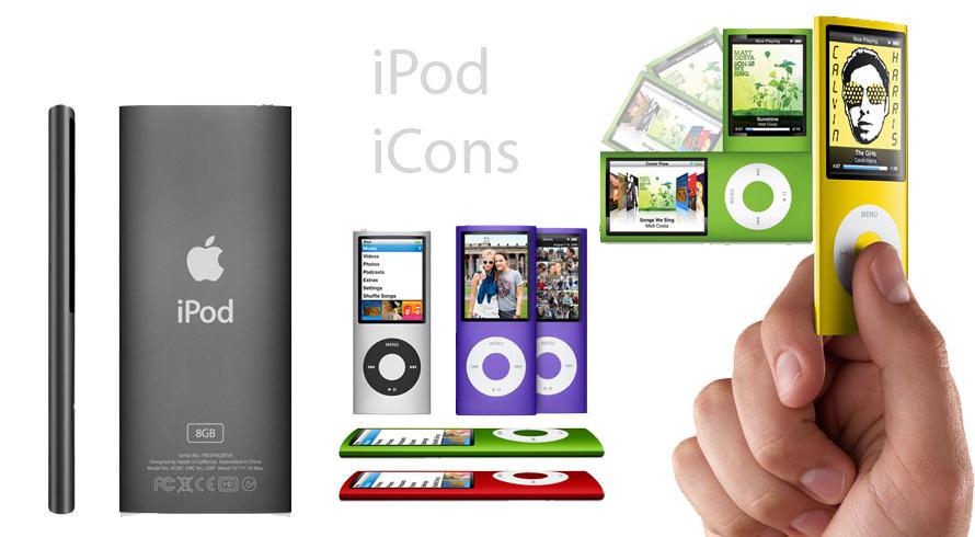 SRV.CC iPod Chromatic Icons by Alex88M