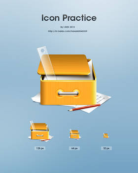 Box Icon practice by aipotuDENG