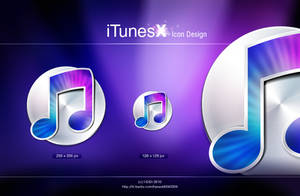 iTunesX icon design by aipotuDENG