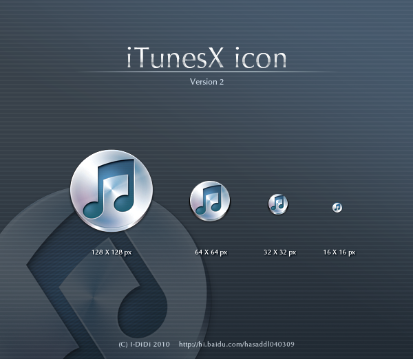 iTunesX icon V2.0 by aipotuDENG