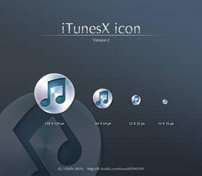 iTunesX icon V2.0