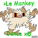 le mankey dance xD by NeonWabbit