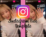 Template Instagram Live