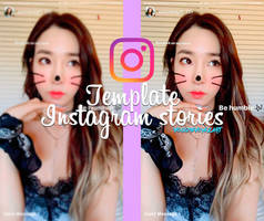 Template Instagram Stories by vousmevoyezart