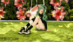 MMD Sitting on the Floor Pose [+DL]