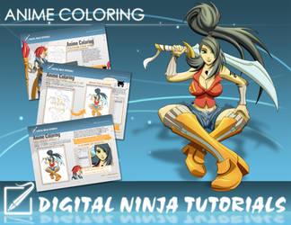 DN Tutorial:Anime Coloring PDF by digitalninja